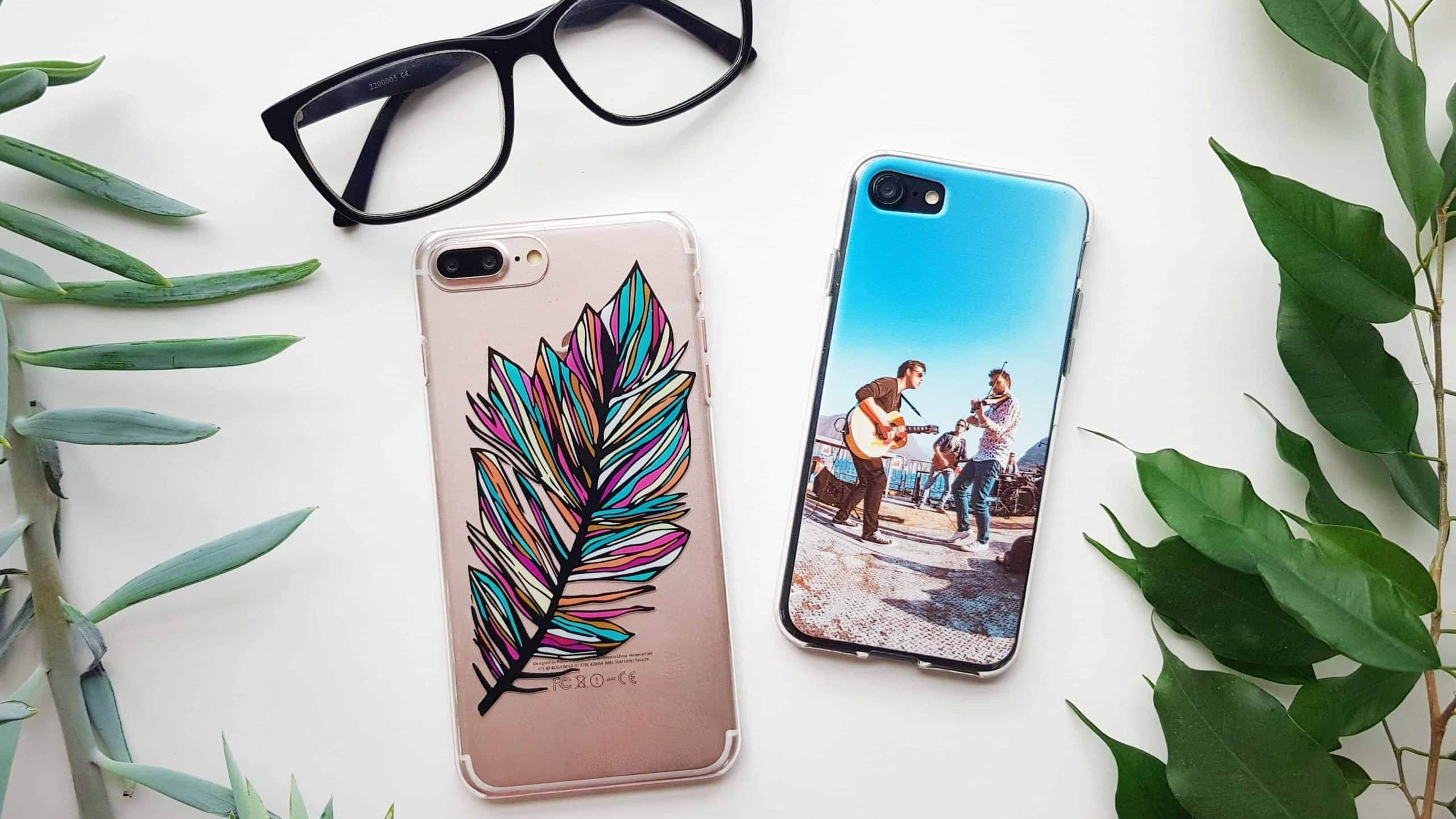 Back printed phone cases
