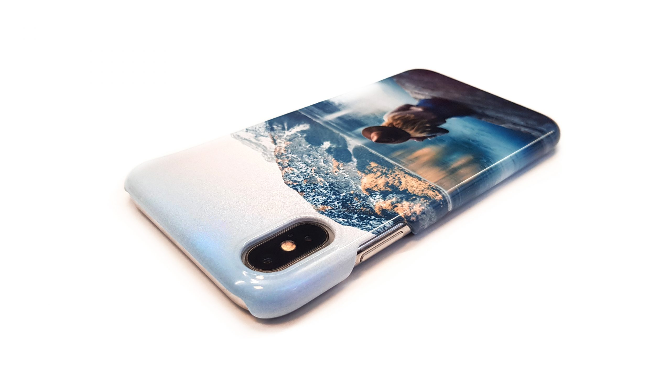 Gloss fully printed case
