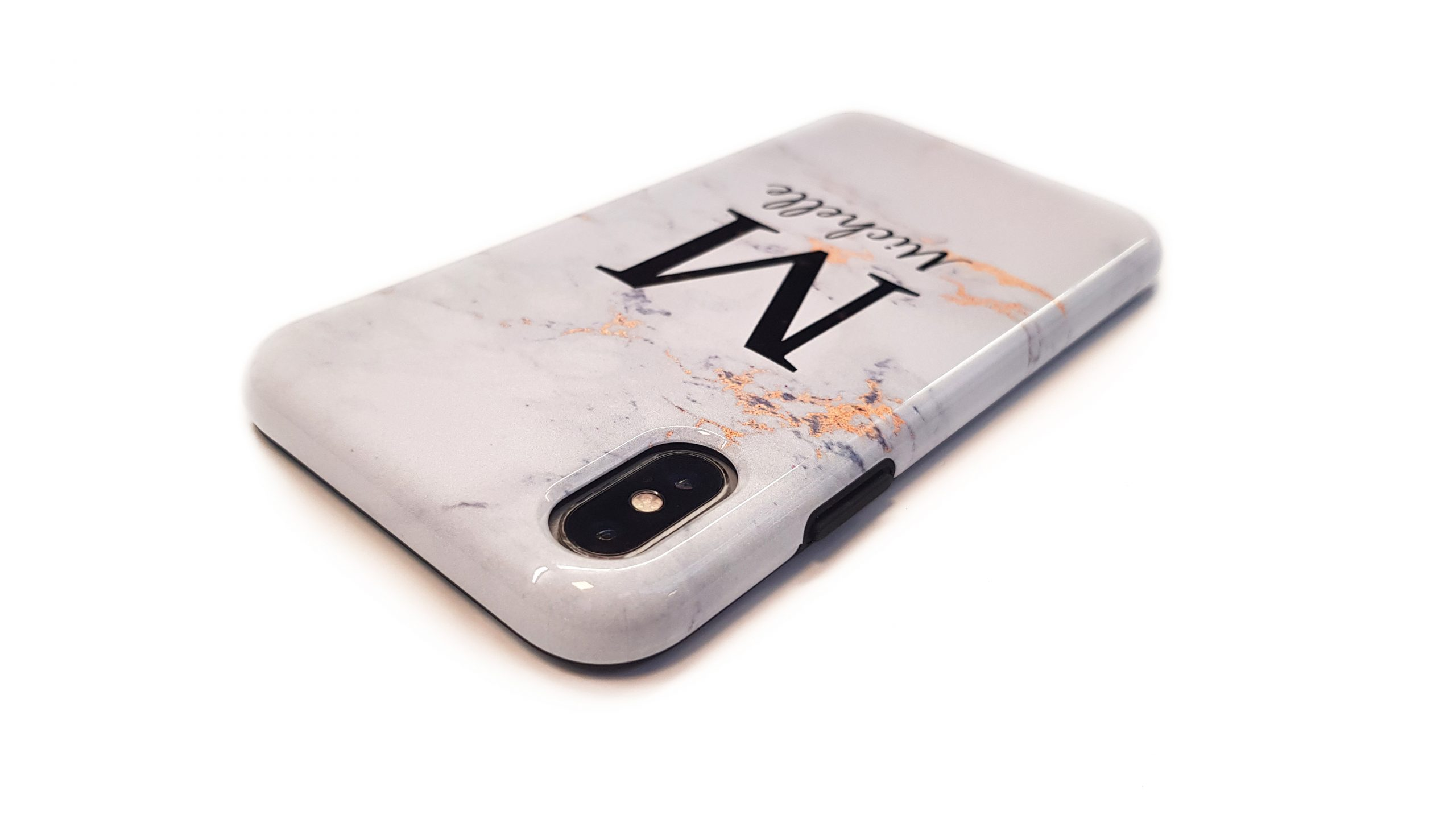 Personalised tough case iPhone X and Xs