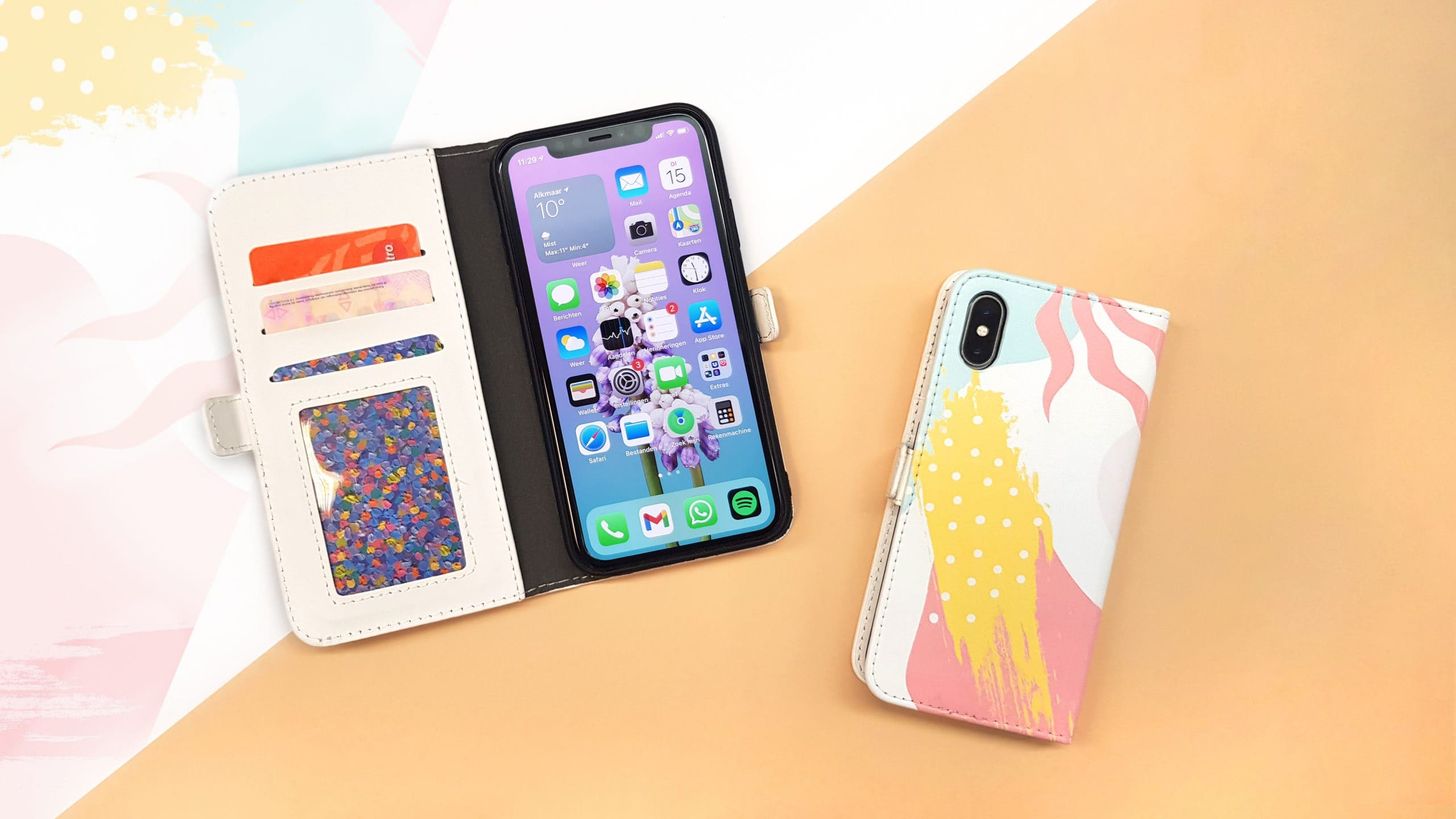 Fully printed phone cases
