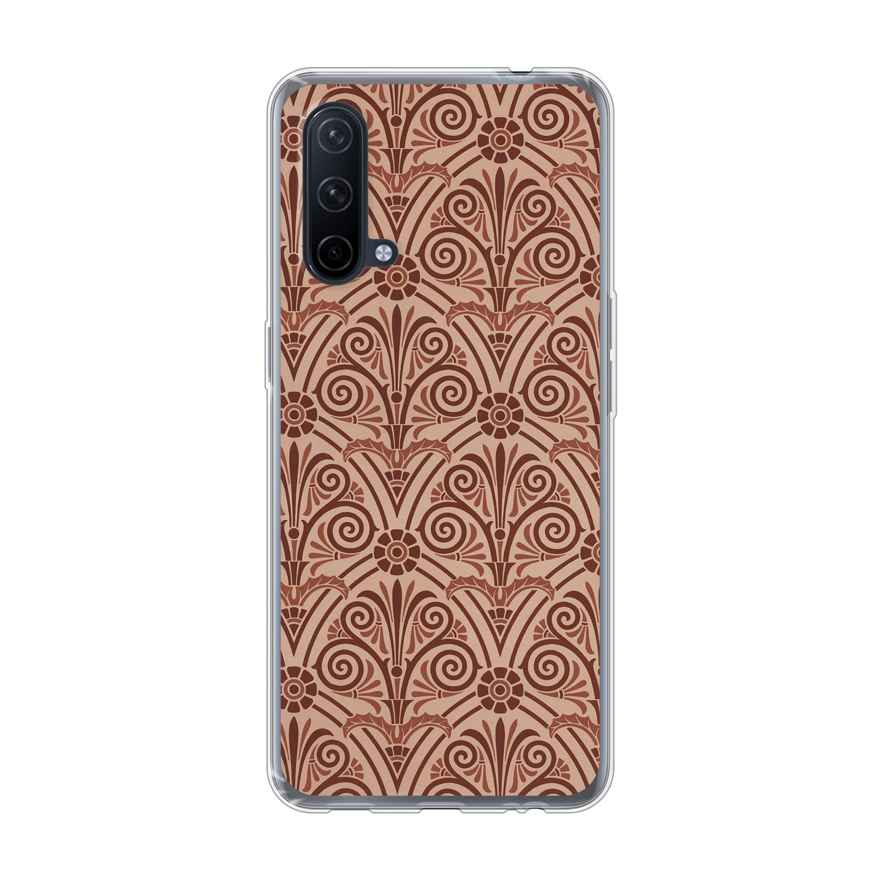 OnePlus Nord CE 5G Soft case (back printed, transparent)